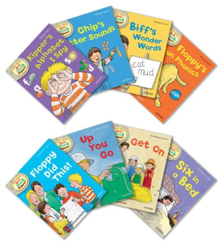 9780192794918: Oxford Reading Tree Read With Biff, Chip, and Kipper: Level 1: Pack of 8