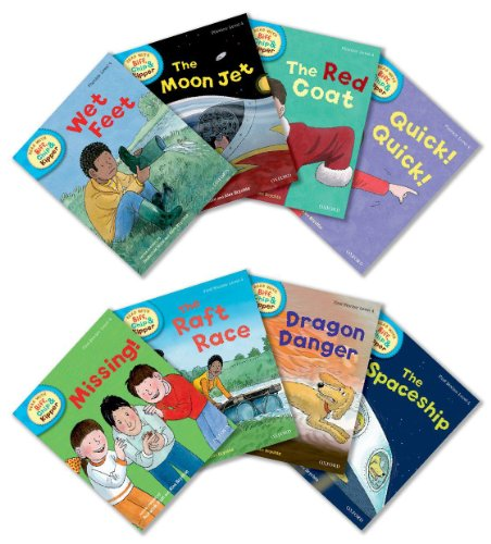9780192794949: Oxford Reading Tree Read With Biff, Chip, and Kipper: Level 4: Pack of 8