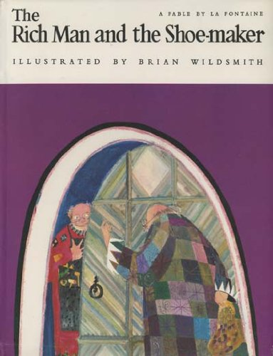 9780192796127: Rich Man and the Shoemaker: A Fable (English and French Edition)