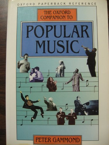 9780192800046: The Oxford Companion to Popular Music (Oxford Quick Reference)