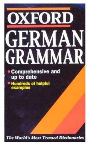 9780192800206: German Grammar (Oxford Quick Reference)