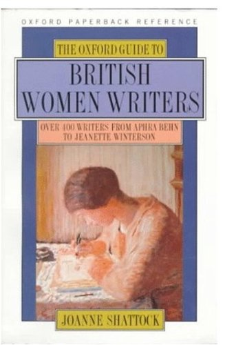 The Oxford Guide to Britih Women Writers