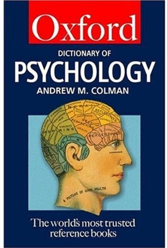 9780192800237: A Dictionary of Psychology (Oxford Paperback Reference)