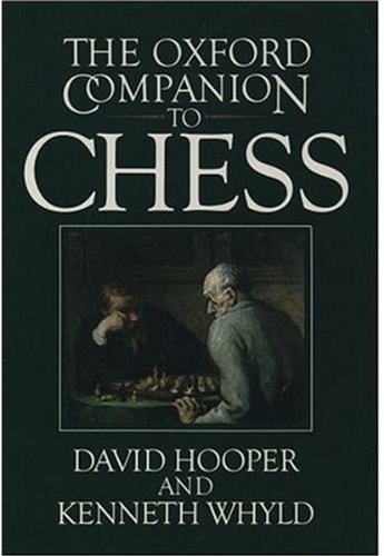 9780192800497: The Oxford Companion to Chess