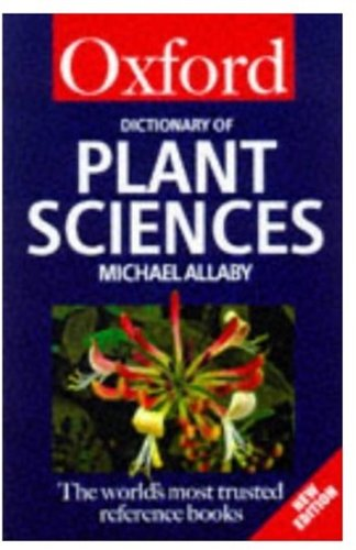 9780192800770: A Dictionary of Plant Sciences (Oxford Paperback Reference)