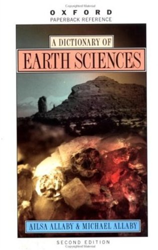 9780192800794: A Dictionary of Earth Sciences (Oxford Quick Reference)
