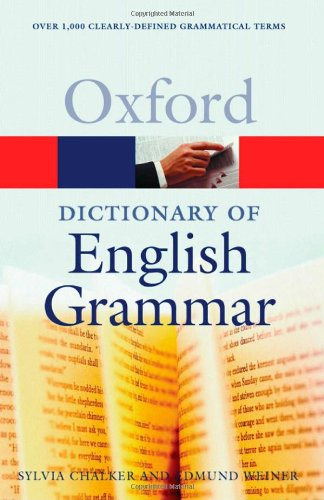 9780192800879: The Oxford Dictionary of English Grammar (Oxford Paperback Reference)