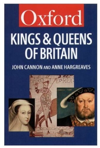 9780192800954: The Kings and Queens of Britain (Oxford Quick Reference)