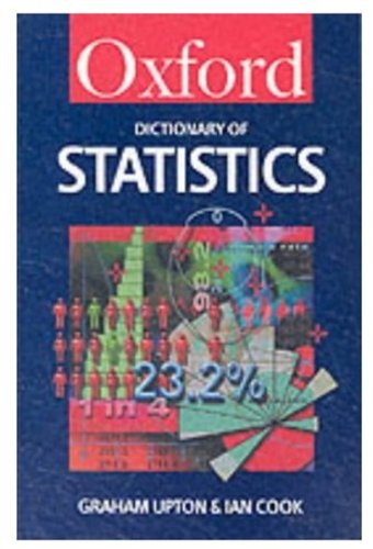 9780192801005: A Dictionary of Statistics (Oxford Paperback Reference)