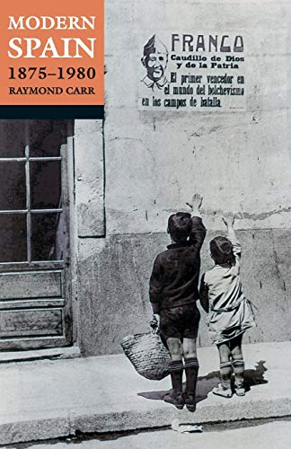 9780192801296: Modern Spain, 1875-1980