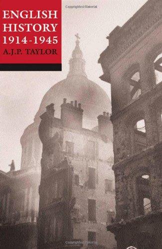 9780192801401: English History, 1914-1945 (Oxford history of England)