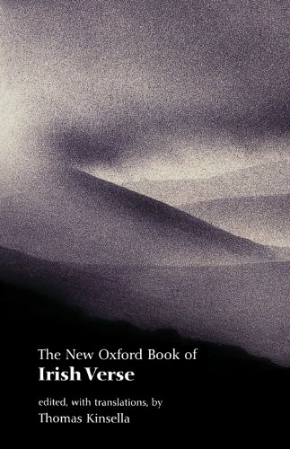 9780192801920: The New Oxford Book of Irish Verse (Oxford Books of Verse)