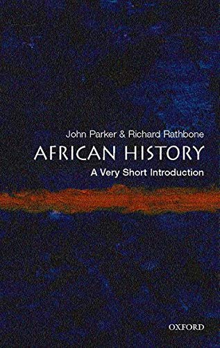 9780192802484: African History: A Very Short Introduction