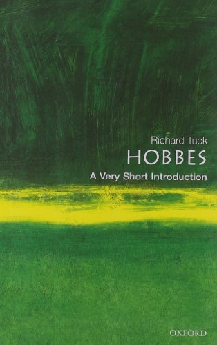 9780192802552: Hobbes: A Very Short Introduction