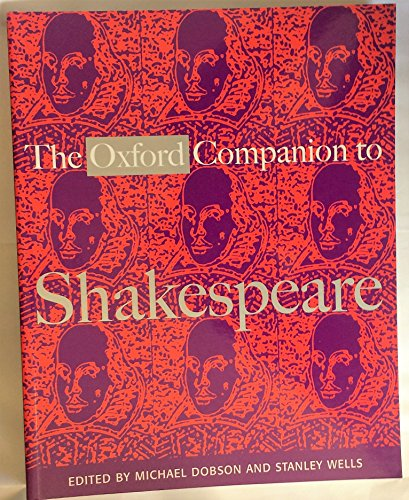 9780192802965: The Oxford Companion to Shakespeare