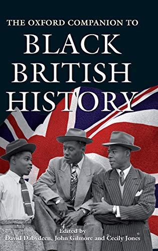 9780192804396: The Oxford Companion to Black British History (Oxford Companions)