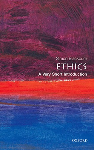 Ethics a very short introduction Very Short Introductions