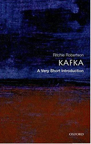 9780192804556: Kafka: A Very Short Introduction