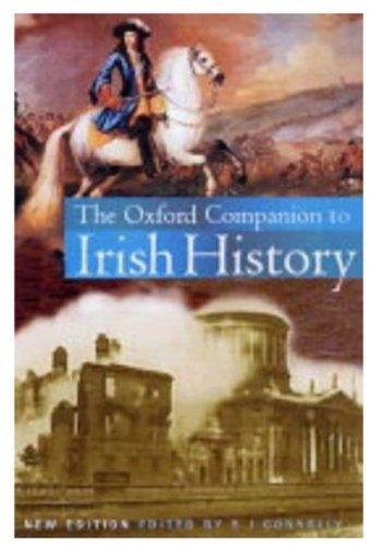 9780192805010: The Oxford Companion to Irish History