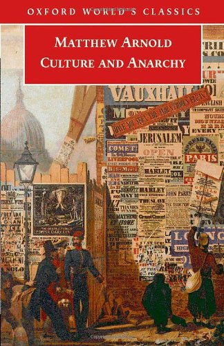 9780192805119: Culture and Anarchy (Oxford World's Classics)