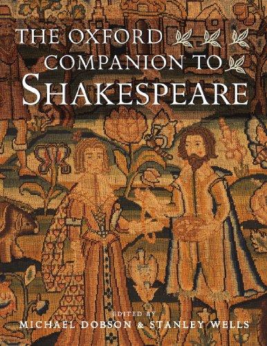 9780192806147: The Oxford Companion to Shakespeare (Oxford Companions)