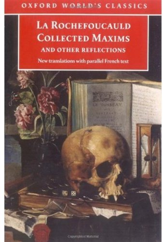 9780192806499: Collected Maxims And Other Reflections