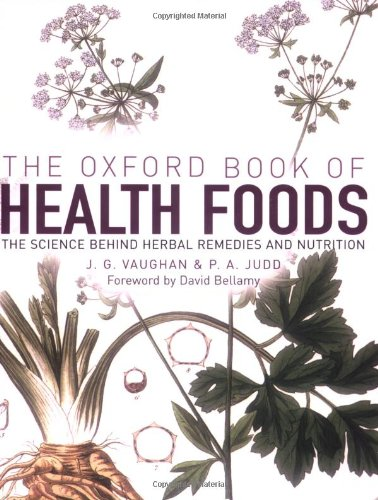 9780192806802: The Oxford Book of Health Foods