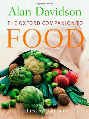 9780192806819: The Oxford Companion to Food (Oxford Companions)