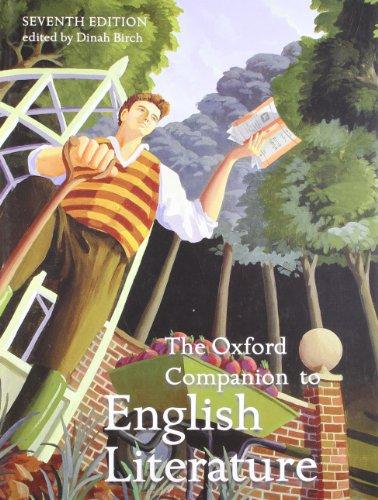 9780192806871: The Oxford Companion to English Literature (Oxford Companions)