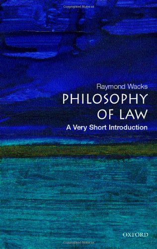 9780192806918: The Philosophy of Law: A Very Short Introduction