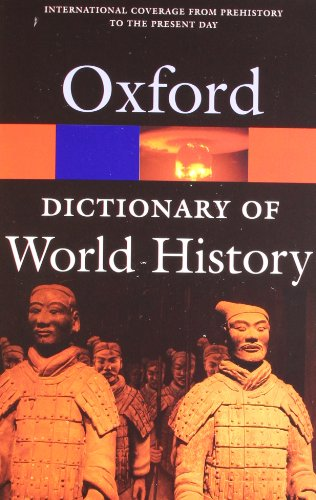 9780192807007: A Dictionary of World History (Oxford Quick Reference)
