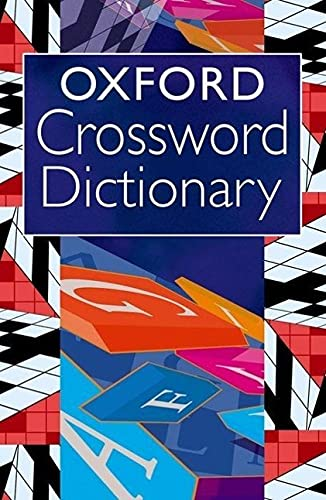 9780192807113: Oxford Crossword Dictionary (UK)