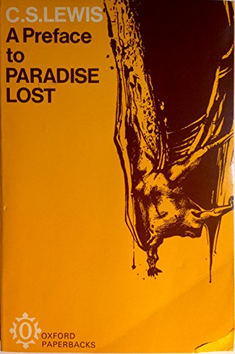 "9780192810038: A Preface to ""Paradise Lost"" (Oxford Paperbacks)"