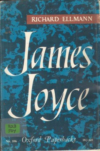 9780192810298: James Joyce (Oxford Paperbacks)