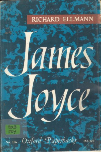 9780192810298: James Joyce