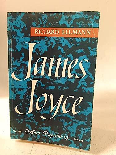 9780192810298: James Joyce