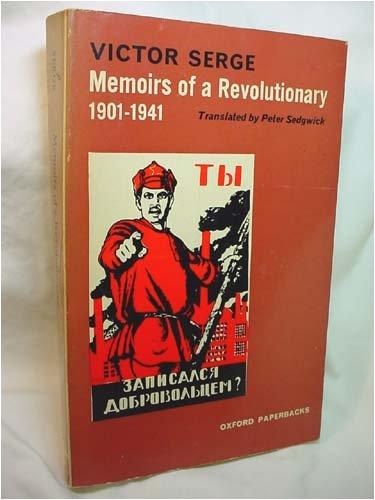 9780192810373: Memoirs of a Revolutionary, 1901-41 (Oxford Paperbacks)