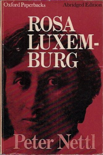 9780192810403: Rosa Luxemburg