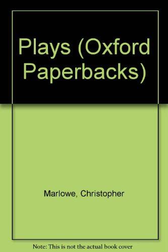 9780192810625: Plays (Oxford Paperbacks)