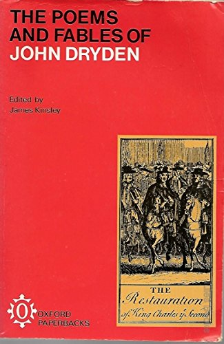 9780192810731: Poems and Fables of John Dryden (Oxford Paperbacks)