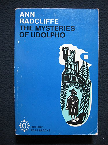 9780192810793: Mysteries of Udolpho (Oxford English Novels)