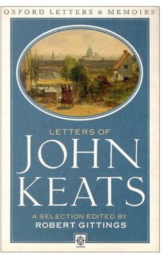 9780192810816: Letters of John Keats: A Selection.: A New Selection