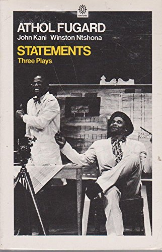 9780192811707: Statements: Three Plays (Oxford Paperbacks)