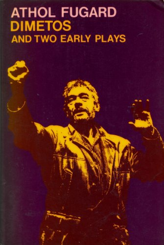 9780192812100: Dimetos and Two Early Plays (Oxford Paperbacks)