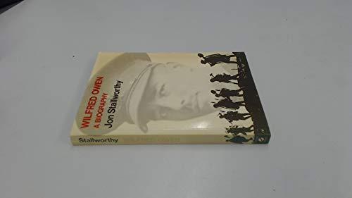 9780192812155: Wilfred Owen: A Biography (Oxford Paperbacks)