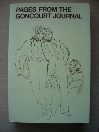 9780192812506: Pages from the Goncourt Journal