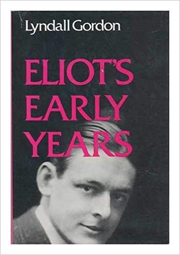 9780192812520: Eliot's Early Years (Oxford Paperbacks)
