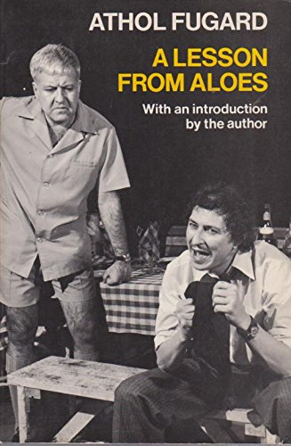 9780192813077: A Lesson from Aloes (Oxford Paperbacks)