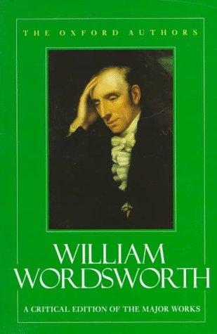 9780192813336: William Wordsworth (The Oxford Authors)