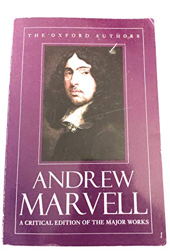 9780192813473: Andrew Marvell (The Oxford Authors)